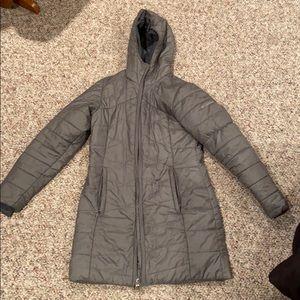 Gray Omni-Heat Columbia winter jacket